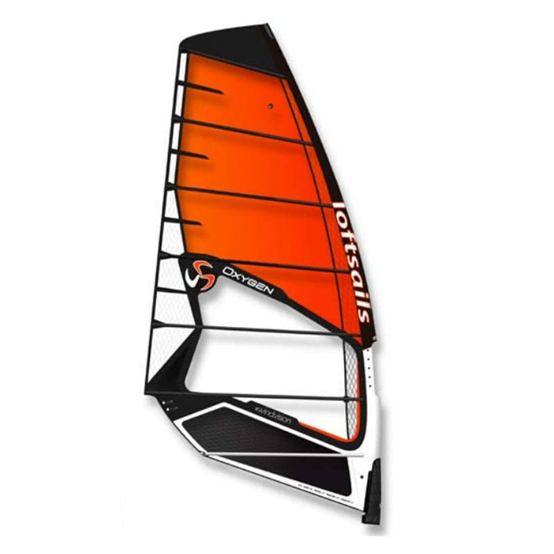 Vela de windsurf oxygen 2021 naranja