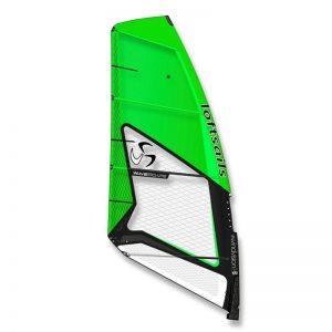 vela de windsurf loftsail wavescape 2020 green