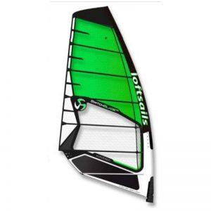 Vela de windsurf lofsail swichblade 2021 green