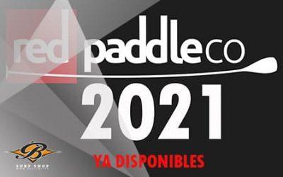 RED PADDEL CO 2021. UNA GAMA MEJORADA DE TABLAS DE SUP.