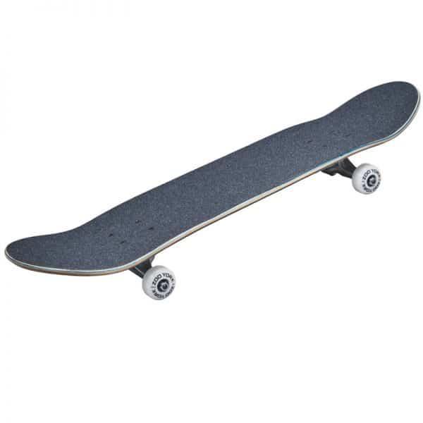 Skateboard zoo york logo blanco 3