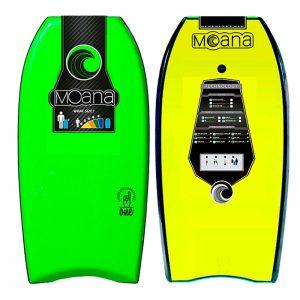 Body board Moana One Green Yellow