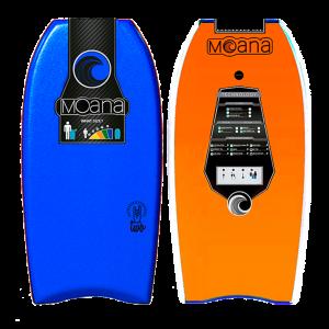 Bodyaboard Moana Two Orange blue