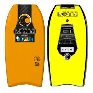 Bodyboard Moana Two Orange yellow