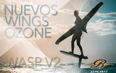 Nuevo wing Ozone Wasp V2. Versatilidad y polivalencia.
